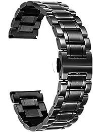 ステンレスベルト ウォッチベルト 交換ベルト 腕時計バンド 高品質 防水性 5色 12mm,14mm,16mm,18mm,19mm,20mm,21mm,22mm,24mm