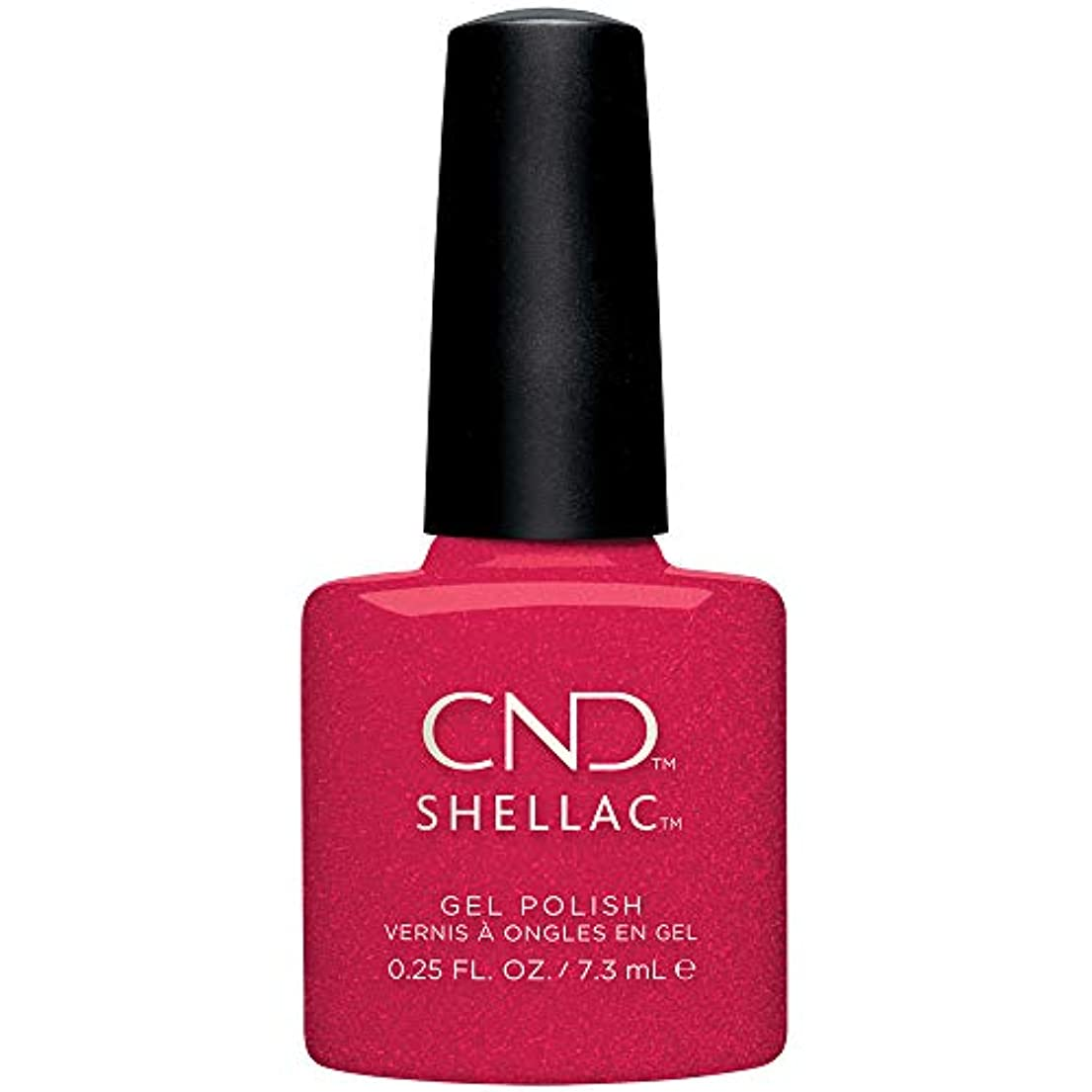 従順な足音上院議員CND Shellac - Night Moves Collection - Kiss of Fire - 0.25 oz / 7.3 oz