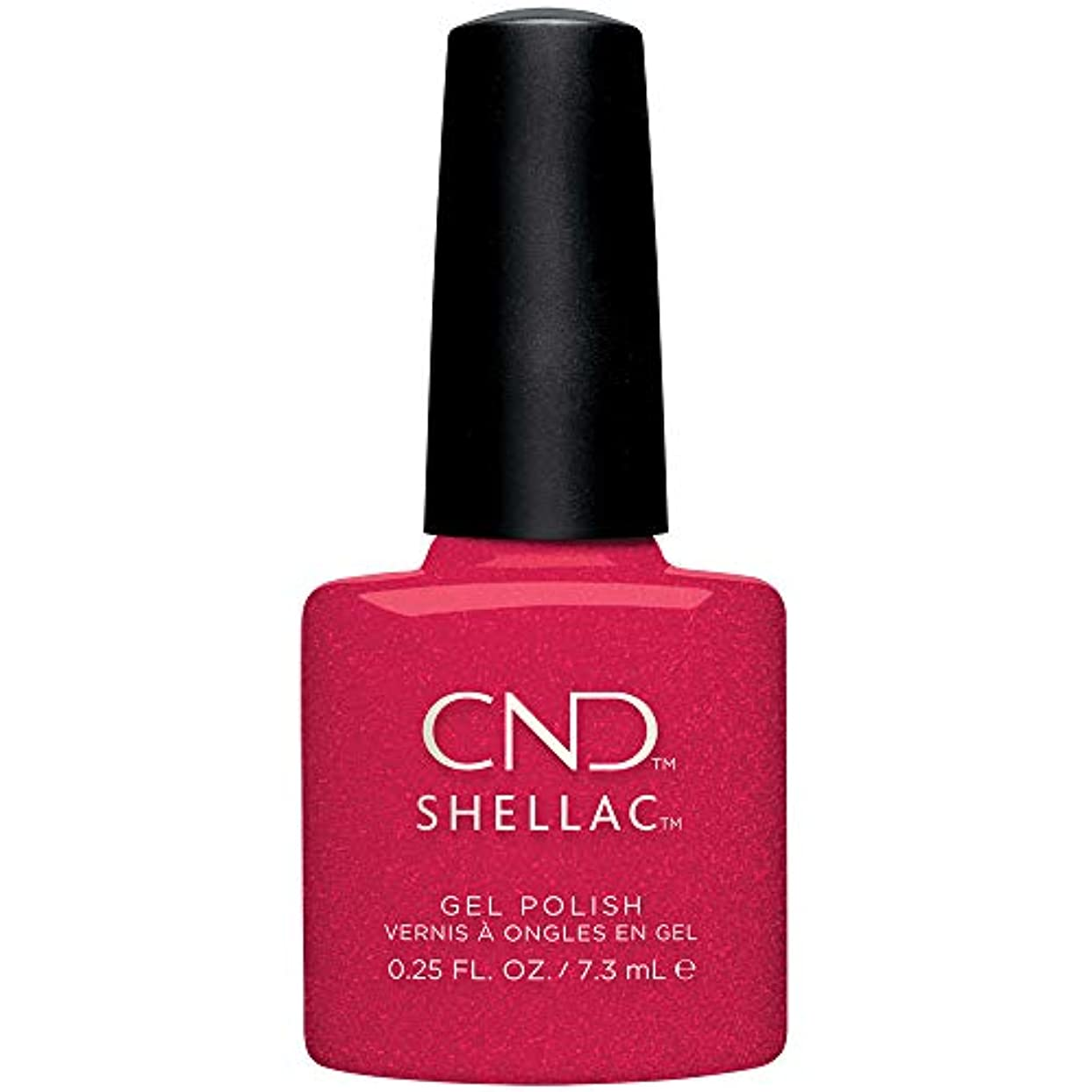 異常な普及味方CND Shellac - Night Moves Collection - Kiss of Fire - 0.25 oz / 7.3 oz