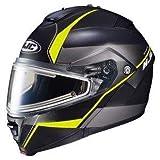 HJC エイチジェイシー IS-Max 2 Mine Snow Helmet-Electric Shield 2017モデル ヘルメット マットブラック/イエロー 3XL(65〜66cm)
