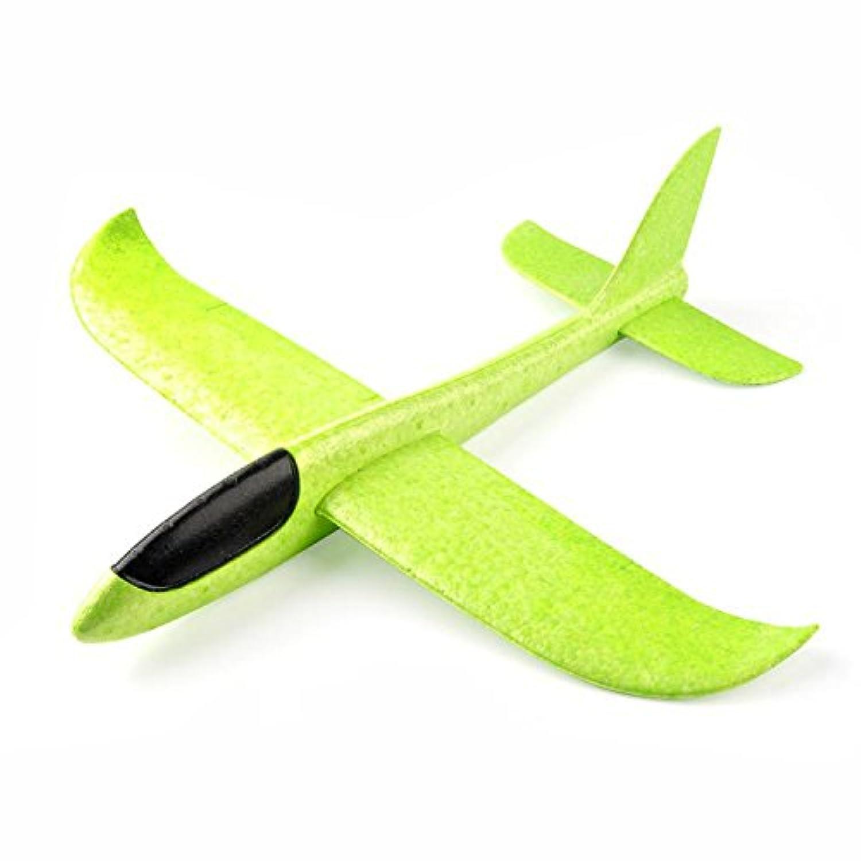 joyled Aircraft, Gliders、フォーム飛行機、 – 手投げ – 飛行機、投げグライダー、アウトドア投げ玩具、子供のおもちゃ。 302T グリーン 302T702T