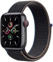 最新 Apple Watch SE(GPS + Cellularモデル)- 40mmスペースグレイアルミニウムケースとチャコールスポーツループ