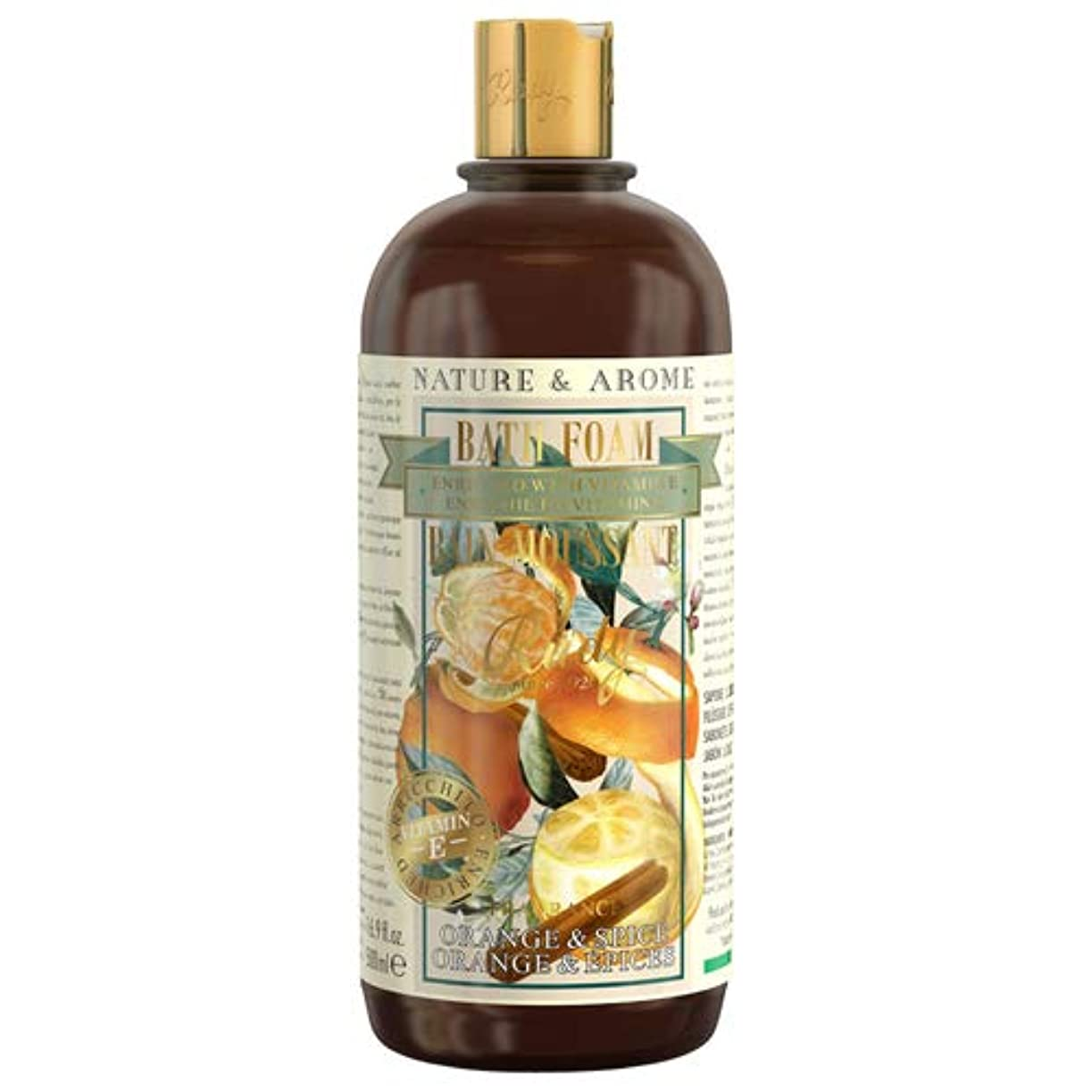 迅速レモンお祝いRUDY Nature&Arome Apothecary ネイチャーアロマ アポセカリー Bath & Shower Gel バス&シャワージェル Orange & Spice オレンジ&スパイス