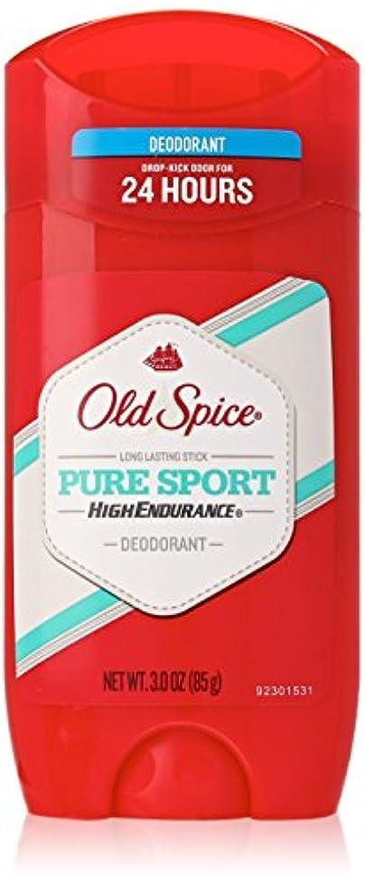 脅かす遠洋のトレース【Old Spice】オールドスパイス HEデオドラント(ピュアスポーツ) 3.0oz 85g