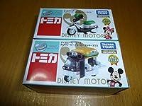 ディズニーモータース セブンイレブン デリバリーカー ミッキーマウス&ミニーマウス