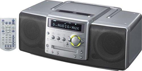 KENWOOD MDX-L1-H CD・MD・ラジオパーソナルステレオシステム グレー