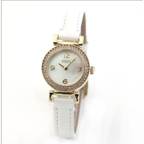 [コーチ]COACH 腕時計 ニュー マディソン 14501691 レディース ホワイト/ゴールド [並行輸入品]