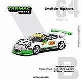 TARMACWORKS 1/64 ポルシェ 911 GT3 R (991) Macau GT Cup - FIA GT World Cup 2016 2nd #912 完成品