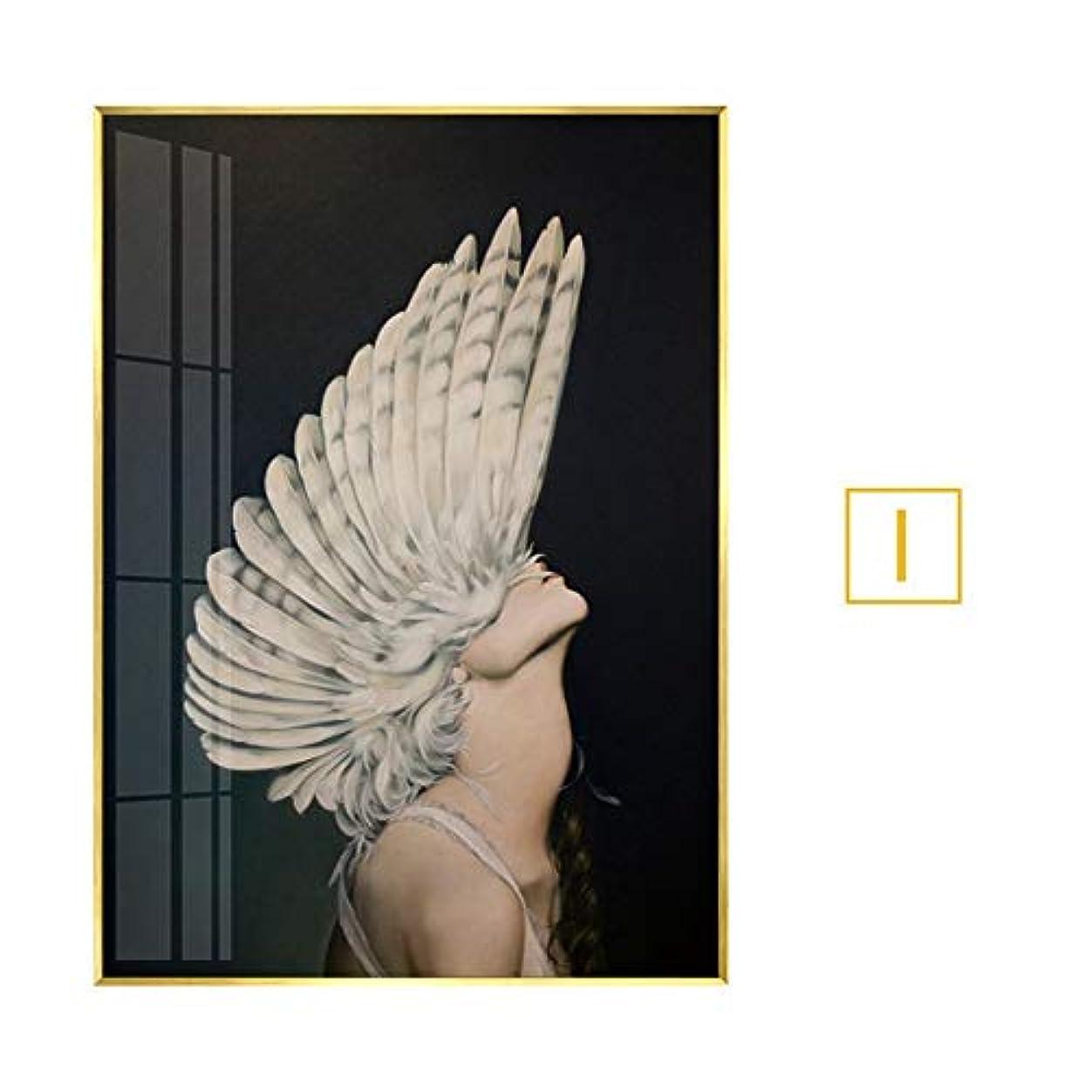 うめき声エンゲージメント栄光の木製フォトフレーム フォトフレーム6 x 4フレームローズゴールドウォールアート銅フォトフレーム風景フォトフレームフォトフレームガラス シングルフォトフレーム (Color : I, Size : 30X40 (PS frame))
