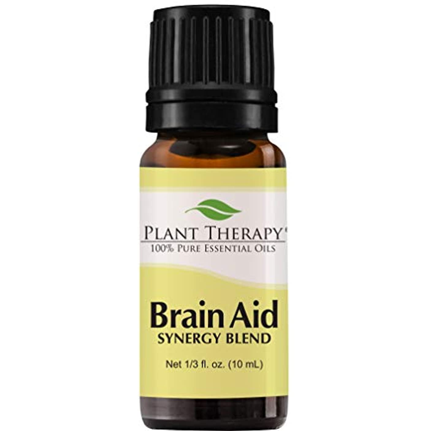 グラマー継続中オゾン脳援助シナジー(精神的な焦点と明確にするため)。エッセンシャルオイルブレンド。 10ミリリットル(1/3オンス)。 100%ピュア、希釈していない、治療グレード。