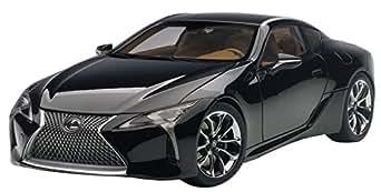 AUTOart 1/18 レクサス LC500 ブラック インテリア・カラー:タン