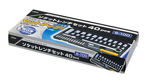 高儀 M&M ソケットレンチセット 40pcs S-100