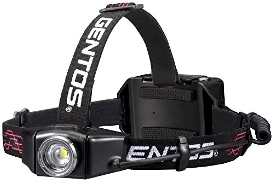 その結果国旗複雑でないGENTOS(ジェントス) LED ヘッドライト Gシリーズ USB充電式 【明るさ300-1100ルーメン/実用点灯6-12時間】 ANSI規格準拠