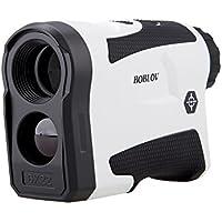 BOBLOV ゴルフ測定器 距離計 600M 距離 速度測定 光学6倍 レンジファインダー +/-1M精度 振動機能搭載 USB充電 狩猟 スポーツ競技