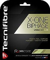 テクニファイバー(Tecnifibre) テニス ガット エックスワンバイフェイズ X-ONE BIPHASE 1.34mm 12M TFG903 ナチュラル(NA)