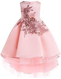 1b0d15ae13396 (フォーペンド)Forpend DR52 子どもドレス 女の子 フォーマル 発表会 結婚式 子供服 刺繍 スカート 110 120 130 140  150cm プリンセスドレス フラワーガール…