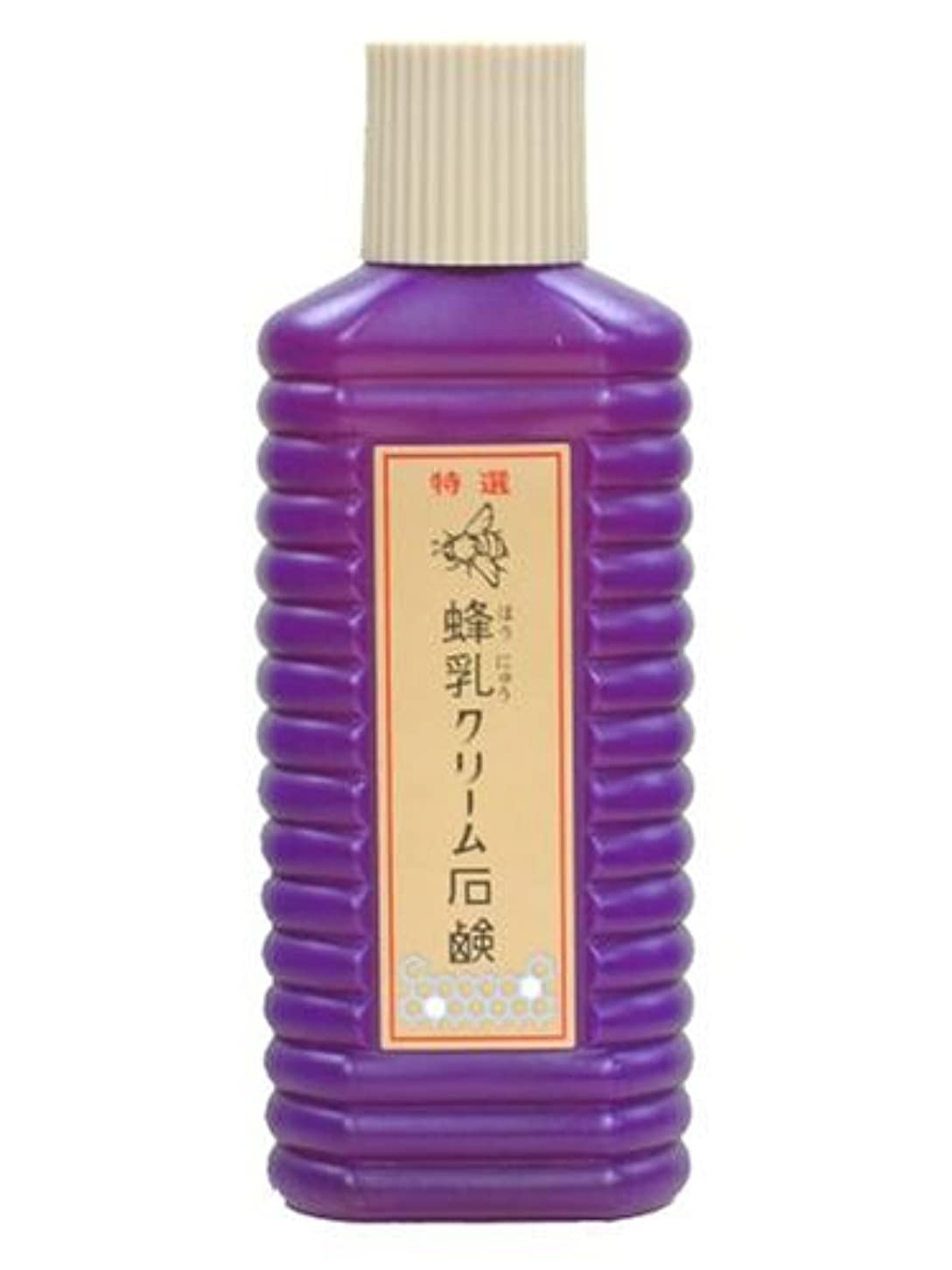不道徳マットレス選ぶ蜂乳 クリーム石鹸(大) 200CC