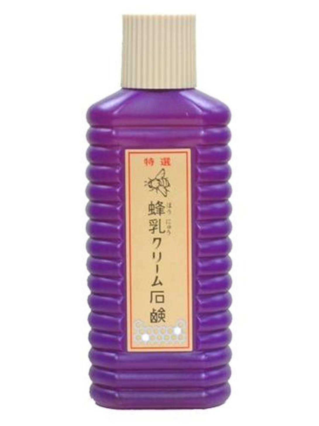 競う食用モーター蜂乳 クリーム石鹸(大) 200CC