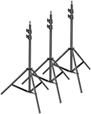 Neewer 3-Pack Photography Light Stand - Metal Adjustable 36-79 inches/92-200 Centimeters Heavy Duty Support St