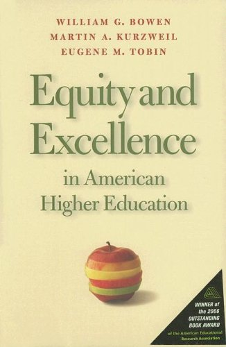 Download Equity And Excellence in American Higher Education (Thomas Jefferson Foundation Distinguished Lecture) 0813925576