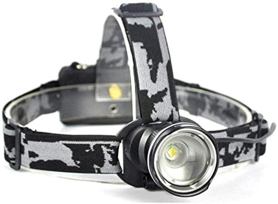 渇きにんじんエンディングヘッドライトLEDヘッドライト3モードズームヘッドライトハイパワー懐中電灯18650充電式ハンティング懐中電灯