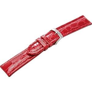 [モレラート]MORELLATO TIPO BREITLING 3 ティポ ブライトリング 時計ベルト 22mm レッド クロコダイル時計ベルト U2120 052 083 022