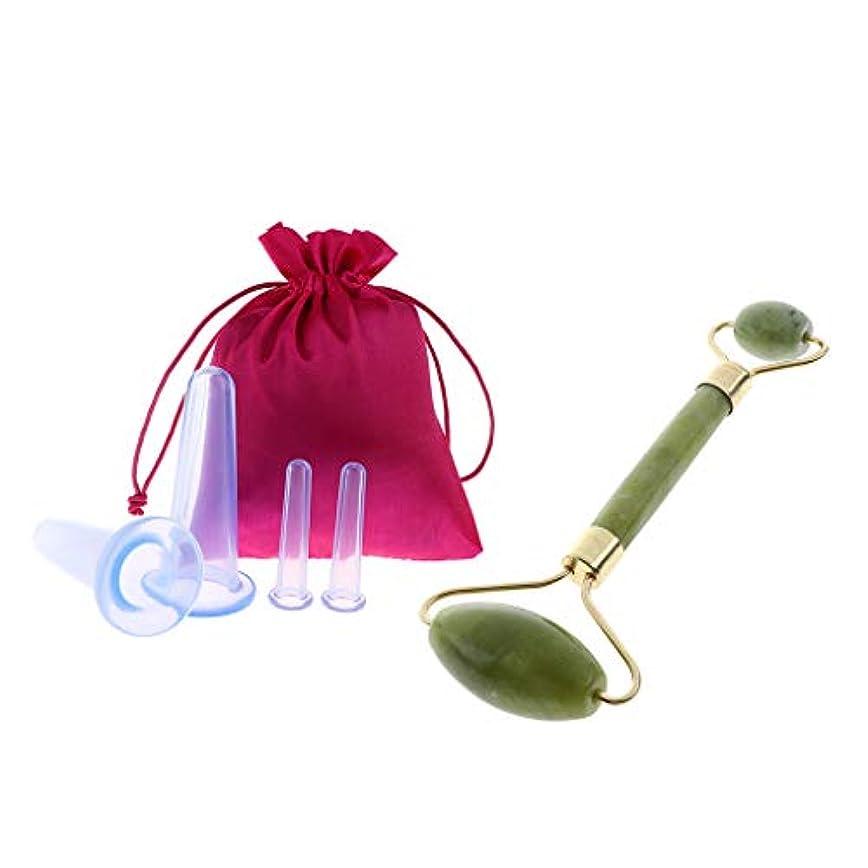 飢えたできないピクニック美顔ローラー 携帯便利 小型美顔器 マッサージ ビューティーローラー 収納袋 シリコーン抗セルライト