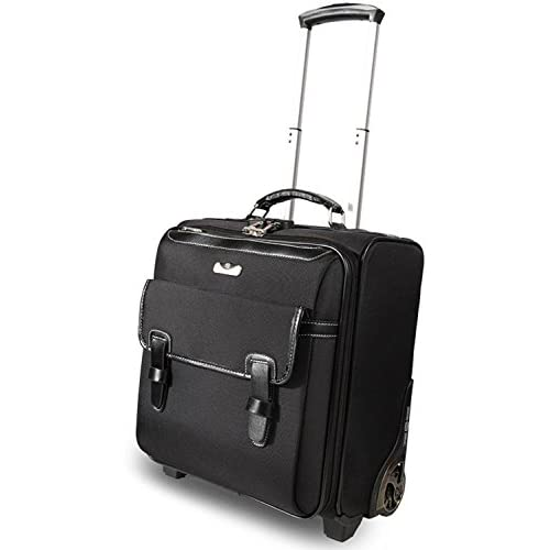 ビジネスバッグ&スーツケースの合体! 機内持ち込み軽量ビジネスキャリーバッグ(1~3泊用)17インチ