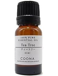 ティートリー 10 ml (COONA エッセンシャルオイル アロマオイル 100%天然植物精油)