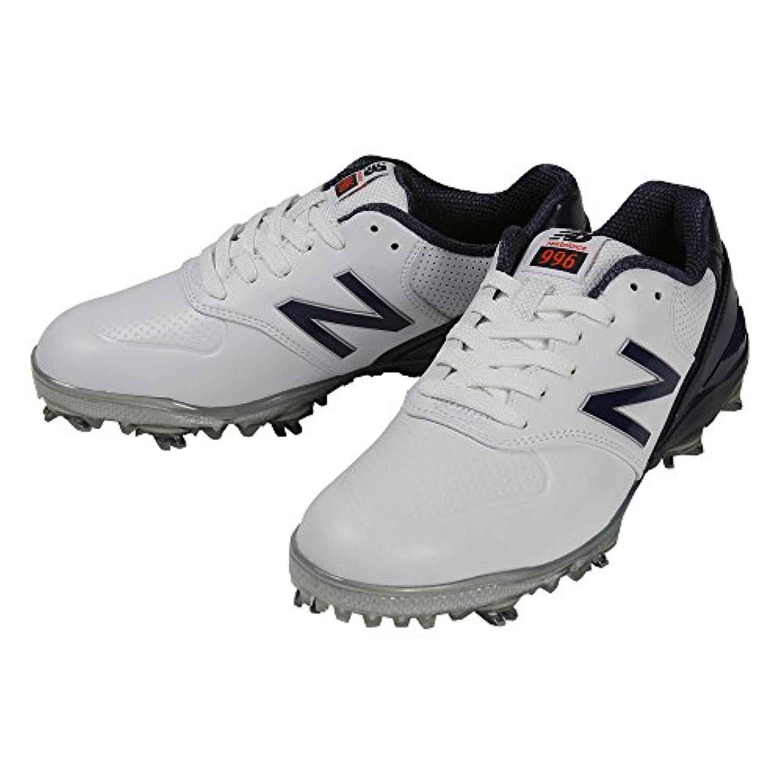 ニューバランス New Balance シューズ ゴルフ シューズ レディス ホワイト/ネイビー 22.5cm