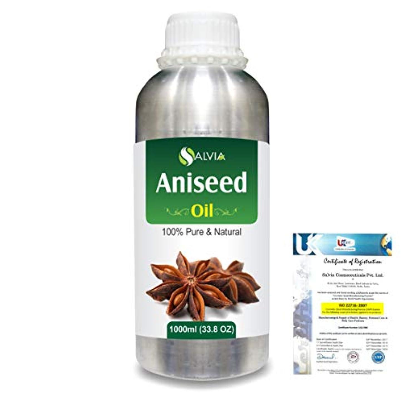 Aniseed (Pimpinella anisum) 100% Natural Pure Essential Oil 1000ml/33.8fl.oz.