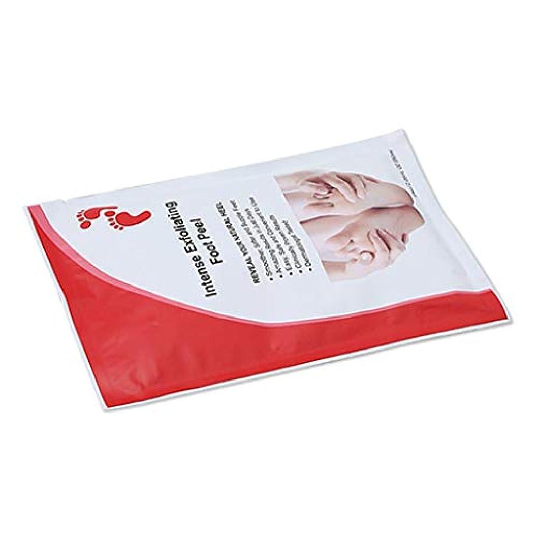 しゃがむはげ応用足膜 足ぱっく フットフィルム フット マスク 角質除去 フツトケア 保湿 全2種選択でき - バッグパッケージ