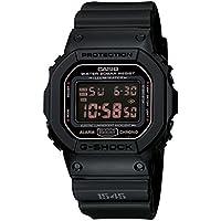 カシオ CASIO Gショック G-SHOCK 腕時計 マットブラック レッドアイ DW5600MS-1[逆輸入品][t-1]