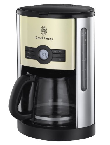 ラッセルホブス コーヒーメーカー ヘリテージ クリーム 18498JP