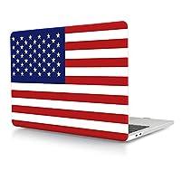 "HRH クールグラフィックデザイン ノートパソコン ボディシェル 保護PCハードケース Apple MacBook Air 11インチ 13インチ / Pro 13インチ 15インチ / Pro Retina 12インチ 13インチ 15インチ New Mac Air 13"" A1932 HRHcaseA1932-USA Flag"