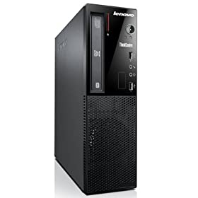 Lenovo ThinkCentre E73 Small  Windows7 Pro 32bit Corei3 3.4GHz 2GB/500GB DVDスーパーマルチ搭載 省スペース デスクトップパソコン Microsoft Office Home & Business 2013搭載 Win8.1Pro64bitリカバリメディア付でOS入替可能