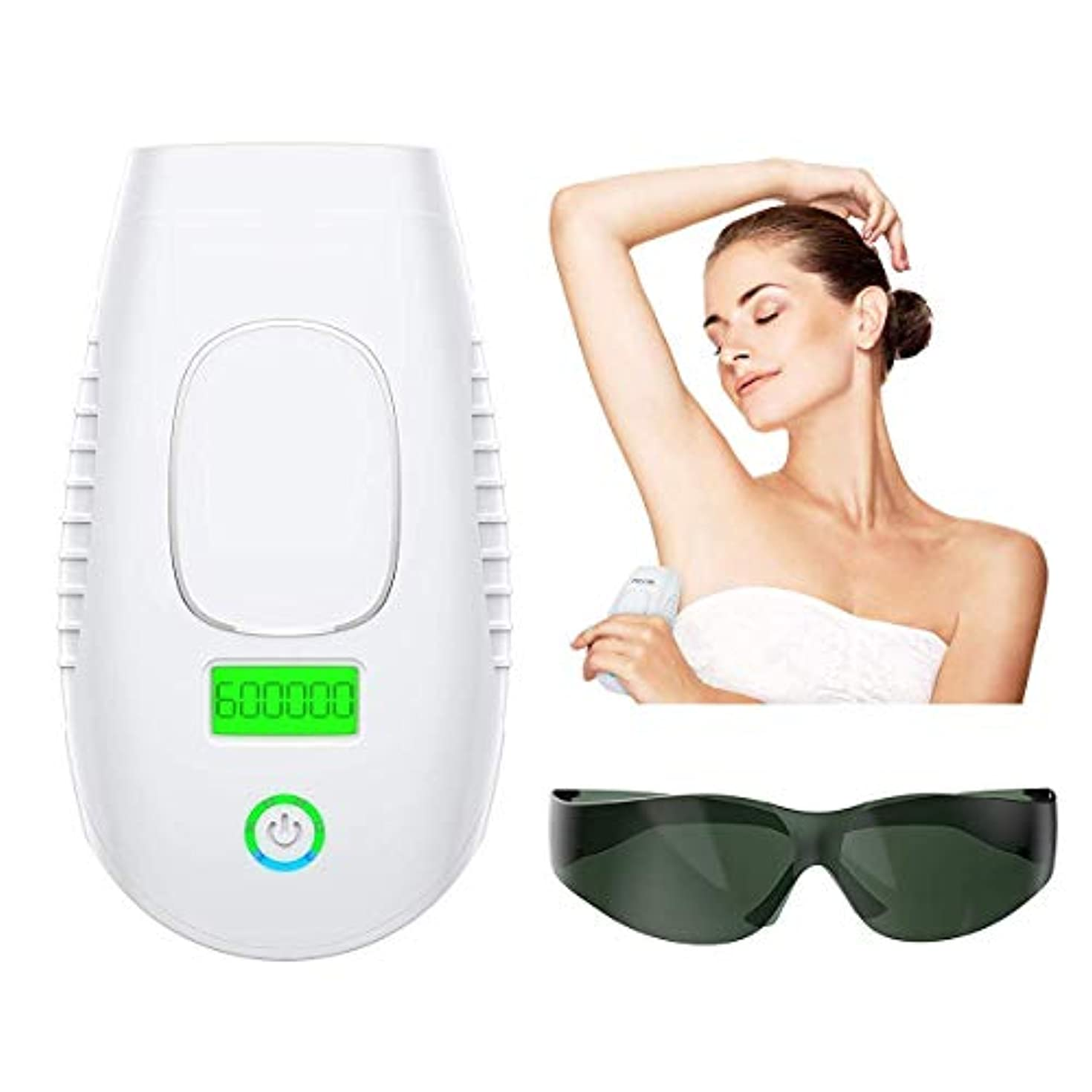 パーマネントヘアリムーバルIPL 6システムデバイス600,000回点滅家庭用電気シェーバー-男性と女性の無痛の体の脚の脱毛