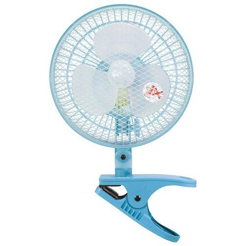 山善(YAMAZEN)  15cmクリップ扇風機 YCS-A15(A) ブルー