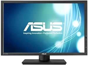 ASUS 昇降・ピボット機能対応、PLSパネル 24.1型ディスプレイ (SRGBカバー率100% / 1,920×1,200 / 広視野角178° / 4系統入力DP,HDMI,DVI,D-sub/ノングレア / 3年保証) PB248Q