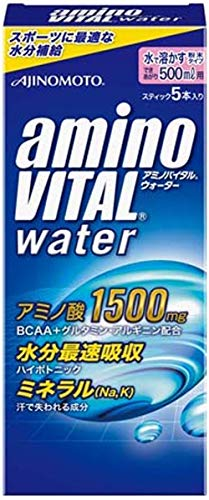 味の素 アミノバイタルウォーター 500ml用 5本入 箱73.5g
