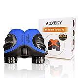 (アワンキー) Aoneky 双眼鏡 子供用 おもちゃ プレゼント 自然観察 ポータンブル 携帯便利 ポロプリズム式 8倍