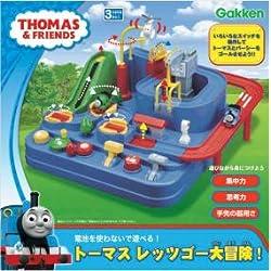 大好きなトーマスと一緒に遊ぶことで楽しみながらお子さまの知覚力や認識力・集中力を伸ばす