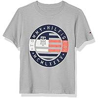 Tommy Hilfiger Boys' Short Sleeve Circle Emblem Crew Neck T-Shirt