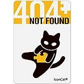 ねこステッカー【404 NOT FOUND】 (FRIC006)