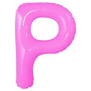 エアポップレターバルーン ピンク 「P」 14...の関連商品6