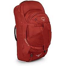 Osprey Packs Farpoint 55 Travel Backpack, Jasper Red, Small/Medium