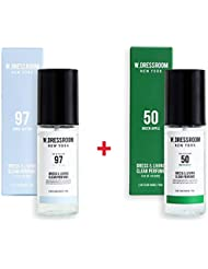 W.DRESSROOM Dress & Living Clear Perfume 70ml (No 97 April Cotton)+(No 50 Green Apple)