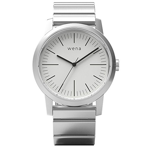 [wena project] wena wrist Three Hands White WN-WT01W