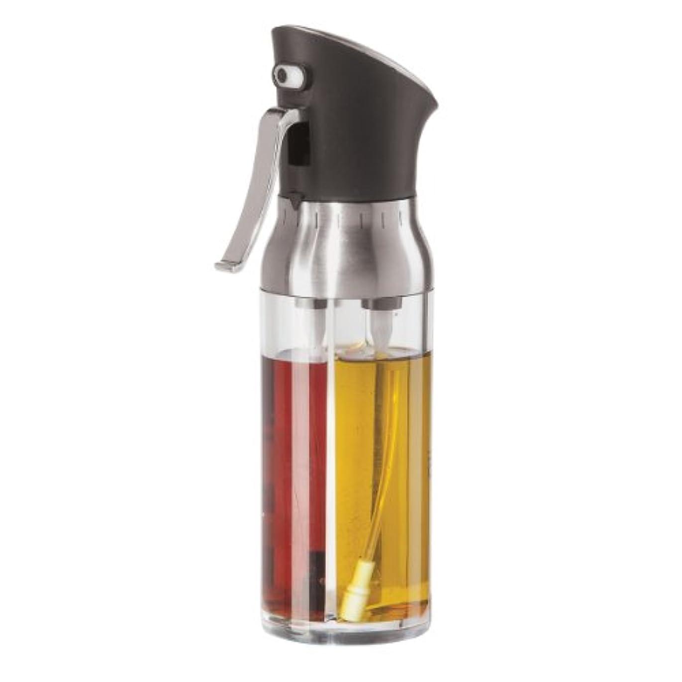 更新理容室中毒Oggi 6004 Mix and Mist Combination Oil and Vinegar Spray Bottle