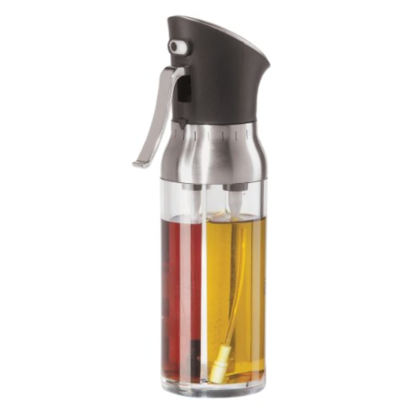 獲物民間ペースOggi 6004 Mix and Mist Combination Oil and Vinegar Spray Bottle